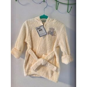 First Impressions baby terrycloth bathrobe